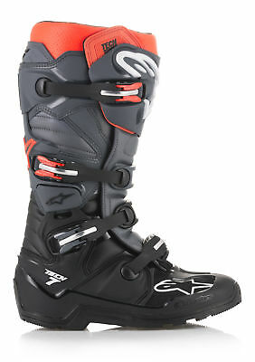 Alpinestars 2019 Tech 7 Enduro Boots Black/Grey/Red All Sizes
