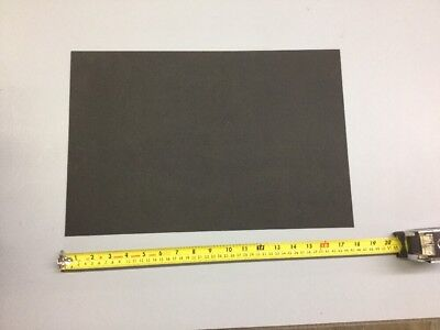 "Black Kydex Plastic Sheet .093""(3/32"") X 12"" X 18"" Haircell Finish Thermoforming"