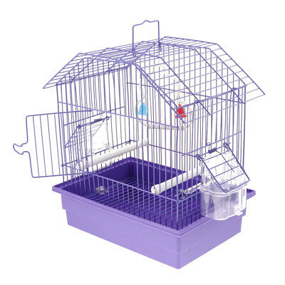Pet Bird Cage with Stand Stick, for Small Animals Parrot Parakeet Conure