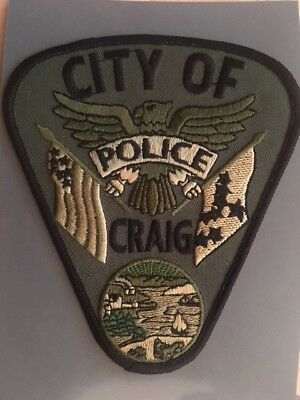 Abzeichen/Patch City of Craig Police Alaska USA Polizei