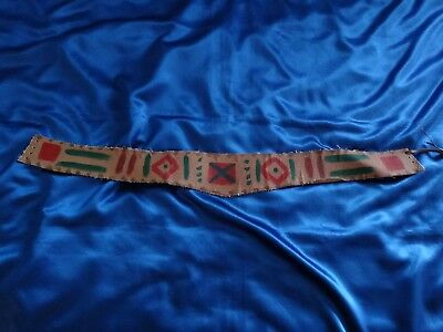"VERY RARE Xena Prop Costume - Actress Gabrielle's Belt from ""The Plays The Thing"