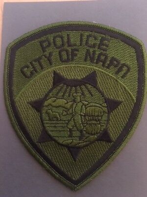 Abzeichen/Patch City of Napa Police Kalifornien USA Polizei