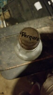 Vintage Vernor's 1 Liter Glass Bottle