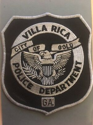 Abzeichen/Patch Vila Rica Police Department Georgia USA Polizei