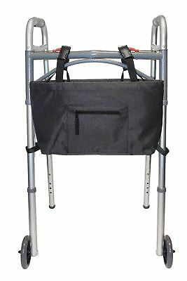 RMS Water Resistant Tote Bag for Walker and Scooter, Black, New