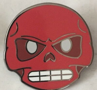 eee6cf0987 RED SKULL EMOJI Marvel AVENGERS SDCC Pin MARVEL Exclusive GOTG Loose 2017