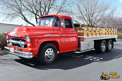 1956 Chevrolet Other Pickups 14Ft Flatbed Resto-Mod 1956 Chevrolet 4400 1.5 Ton Show Quality Resto-Mod 350 Chev 330HP 14Ft Flatbed