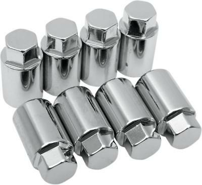 "Colony Big Bore Cylinder Base Nut Kit 7/16""-20 Chrome #8600-8 Harley Davidson"