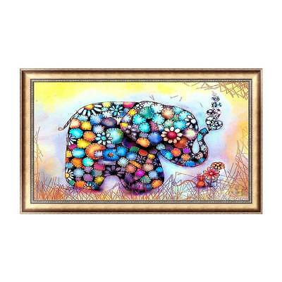 5D Diamond Embroidery Elephant Painting Cross Craft Tool Stitch Home Decor DIY