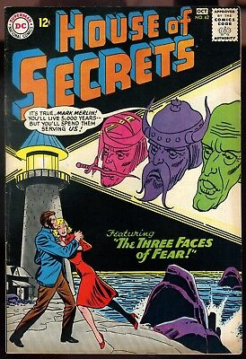 House of Secrets #62 Fine+   2nd Appearance Eclipso
