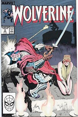 Wolverine (1st Series) #3 1989 vf/nm Marvel Comics