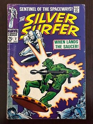 Silver Surfer #2 1st Appearance Brother of Badoon 1968 Marvel KEY ISSUE!