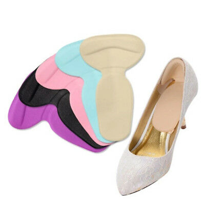 2PC High Heel Thickened Antiskid Silicone Gel Liner Grip Cushion Shoe Insole Pad