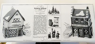 """Dept.56  Dickens' - """"start A Tradition"""" ,  #58327   13 Items,   Buy Of The Month"""