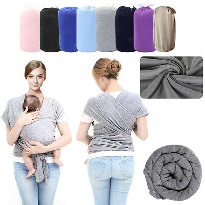 Baby Sling Stretchy Wrap Carrier Premium Breastfeeding Birth to 3 Years Newborn