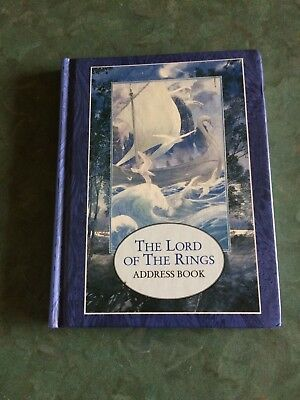 The Lord of The Rings Address Book