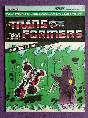 Transformers comic UK issue 20