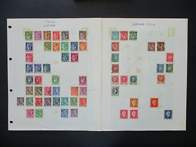 ESTATE: France Collection on Pages, Part 2 - Great mix of issues (3673)