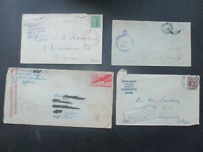 ESTATE: Old World WW1 and WW2 covers impressive items    (3430)