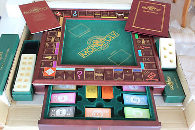 Franklin Mint Special Edition Monopoly 1991