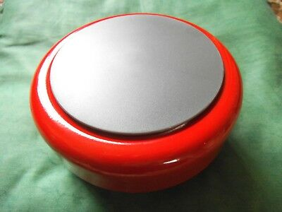 fire alarm bell / warning / signal bell. Colour - Red. Brand - Cooper Fulleon