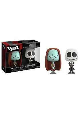 Funko Nightmare Before Christmas Sally & Jack Skellington 2-Pack RARE UK Gift