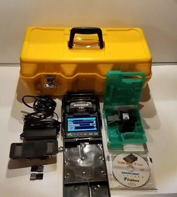Fujikura FSm-12S fusion splicer tested only 268 total ARC Count