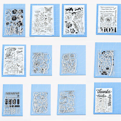 1PC Metal Cutting Dies Clear Stamp Embossing Stencil DIY Scrapbooking Card Craft