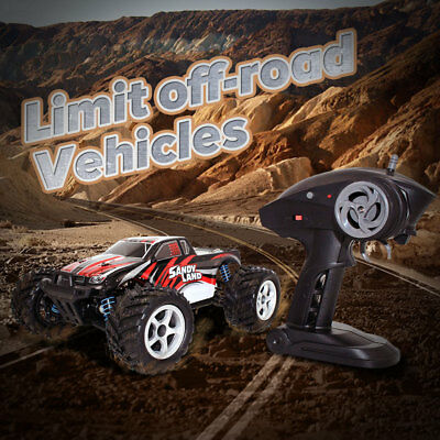 1:18 2.4Ghz Radio Remote Control Rechargeable Off-Road RC Car Vehicle Model 9300