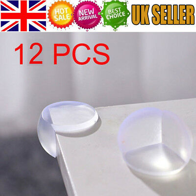 12 X Child Baby Safe Good Guard Protector Table Corner Edge Protection Cover UK