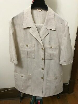 Vintage Safari Suit Size M