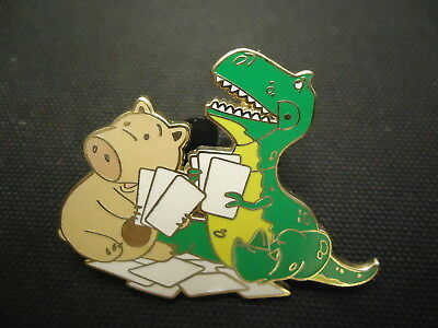 Disney Wdw Toy Story Booster Collection Rex And Hamm Only Pin