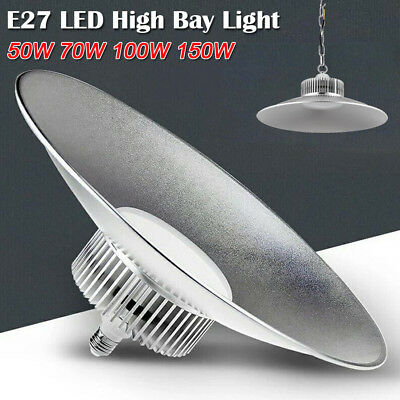 LED High Bay Light Low Bay 50/70/100/150W Factory Warehouse Industrial Lighting