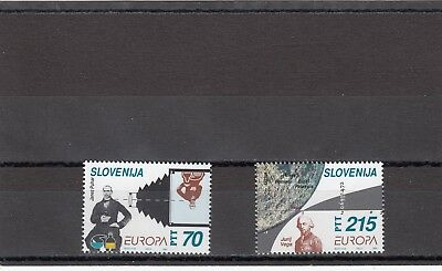 Slovenia - Sg231-232 Mnh 1994 Europa Discoveries & Inventions