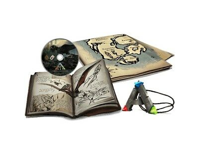 ARK SURVIVAL EVOLVED Collector's Edition - NEW ! Artbook OST Map Medallion