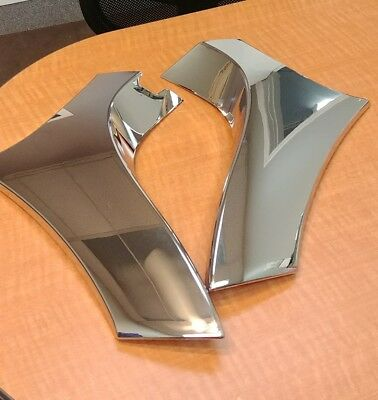 Victory Cross Roads Cross Country Chrome Highway Bar Cover Kit