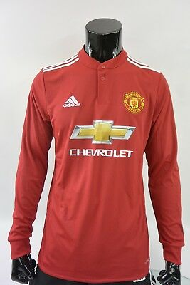 a7debc1c87a adidas Manchester United - Home Shirt 2017-18 LONG SLEEVE SIZE M (adults)