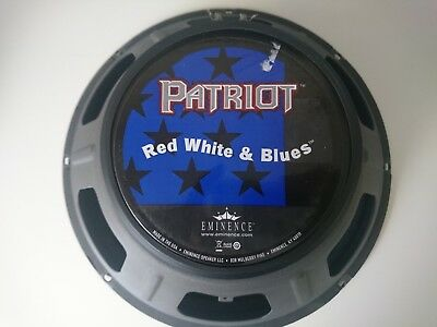 Eminence Patriot Red White and Blues