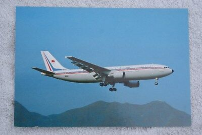 Carte postale Airbus A300-600 CHINA AIRLINES (B-1802)