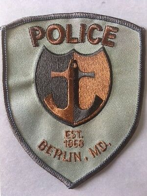 Abzeichen/Patch Berlin Police New Hampshire USA Polizei