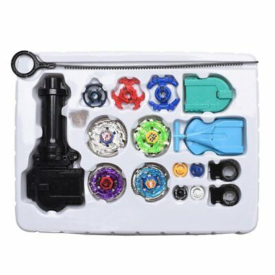Kids 4D Fusion Top Metal Master Rapidity Fight Rare Beyblade Launcher Grip  oi