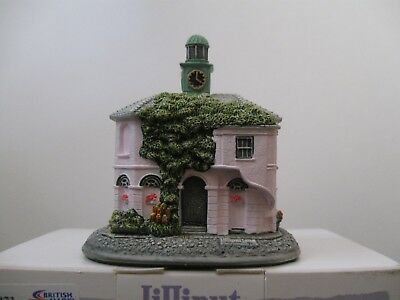 """Lilliput Lane L3373 """"The Pepperpot, Godalming"""" Mint in box with deed."""
