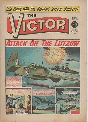 The Victor 118 Fine 25Th May 1963 Dc Thomson Uk Comic