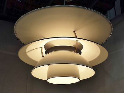 Louis Poulsen Ph6-6 1/2 Charlottenburg Mid-Century Modern Ceiling Light Pendant