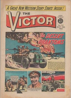 The Victor 117 Good 18Th May 1963 Dc Thomson Uk Comic