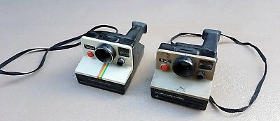 vintage Polaroid instant land cameras x2  500 & 1000 , offered as is , untested.