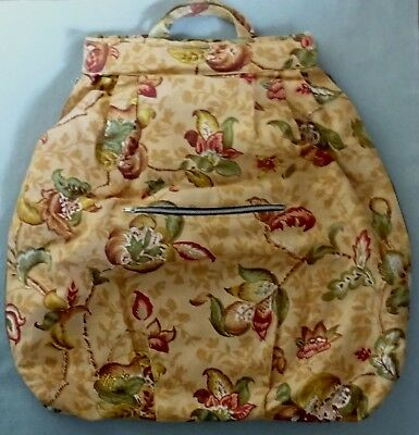 Handmade Lace Makers Travel Bag For Pillow, Bobbins & Accessories