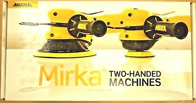 "Mirka MR-610THCV 6"" Central-Vacuum Sander w/3/8"" Orbit w/Hook & Loop pad, Qty 1"