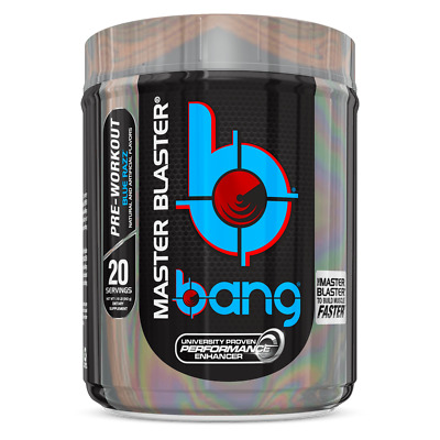 VPX Bang Master Blaster Pre Workout Powder - 20 Servings - All Flavors