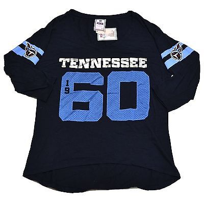Victoria s Secret Pink Tennessee Titans T Shirt Jersey Bling Graphic Tee  Nfl Vs 0cacbf07b